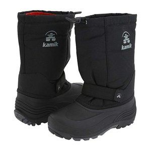 Kamik Toddler 12 Rocket Snow Boots Rubber Lined